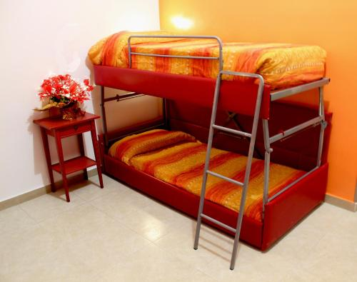 Bed in 5 Female dormitory Room