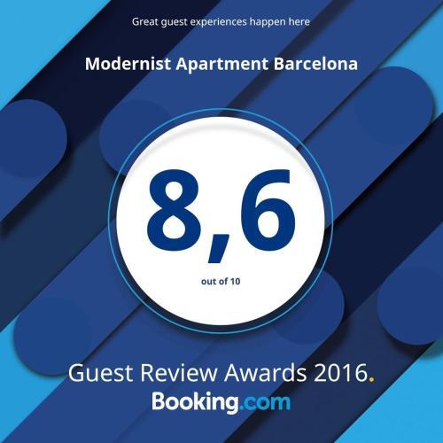 Modernist Apartment Barcelona photo 24