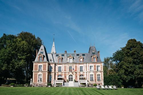 Kasteel-overnachting met je hond in Chateau-Hotel De Belmesnil - Saint-Denis-le-Thiboult