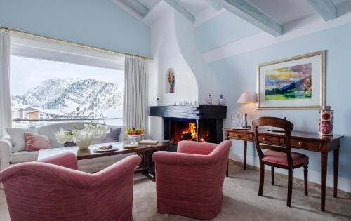 Junior Suite with Chimney