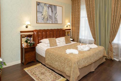 Петр Отель Стандартный двухместный номер с 1 кроватью или 2 отдельными кроватями