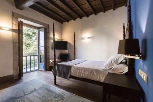 Habitación Doble Deluxe - 1 o 2 camas Pazo da Pena Manzaneda 6