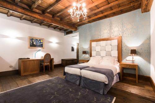 Habitación Doble Deluxe - 1 o 2 camas Pazo da Pena Manzaneda 14
