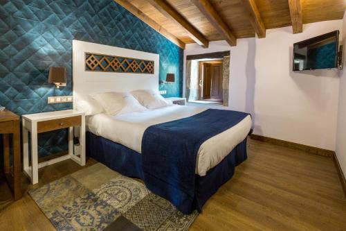 Habitación Doble - 1 o 2 camas Pazo da Pena Manzaneda 9