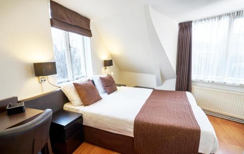 Hotel Nes Двухместный номер с 2 отдельными кроватями в дополнительном здании - В номер можно подняться только по лестнице
