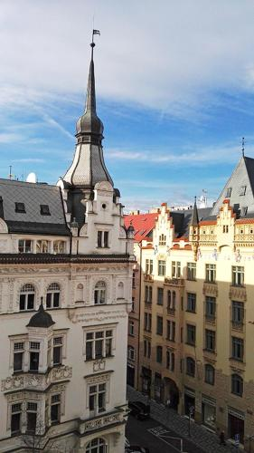 Prague Old Town Apartment with Terrace Bild 3
