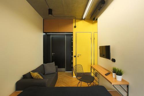 Hostel Suffix Двухместный номер с 1 кроватью и видом на реку