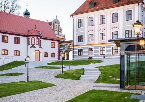 Kasteel-overnachting met je hond in Hotel Schloss Leitheim - Leitheim