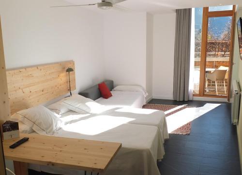 Large Double or Twin Room Tierra de Biescas 12