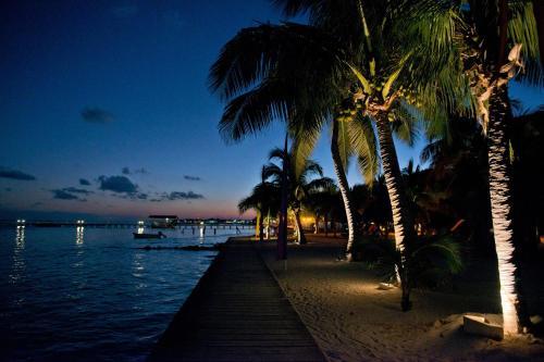 Coconut Drive, San Pedro, Ambergris Caye, Belize.