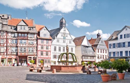 . Ferienwohnung Marstall - Schloss Butzbach