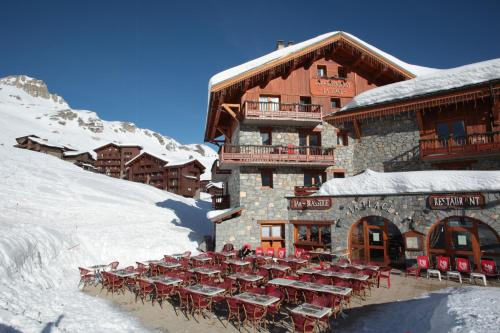 Chalets Montana Planton - Hôtel - Tignes