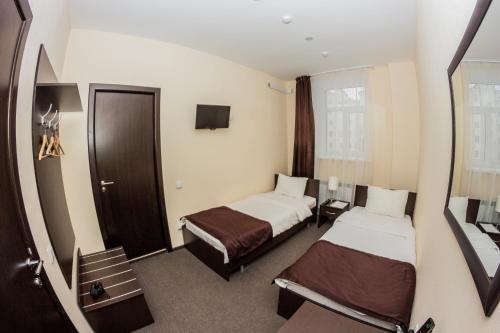 Отель Островский Стандартный двухместный номер с 2 отдельными кроватями