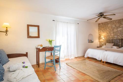 Standard Doppel- oder Zweibettzimmer Finca Hotel Es Castell 4