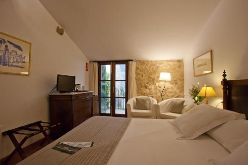 Doppel- oder Zweibettzimmer Finca Hotel Son Palou 1
