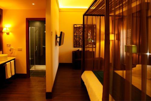 Habitación Doble Superior - 1 o 2 camas - Uso individual Hotel Spa Martín el Humano 7