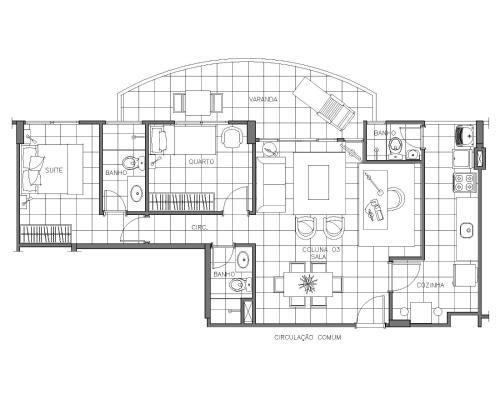 . Apartamento Completo no Jardim da Barra