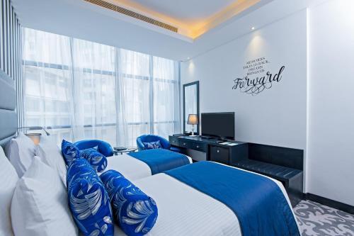 Somewhere Hotel Tecom Улучшенный двухместный номер с 2 отдельными кроватями