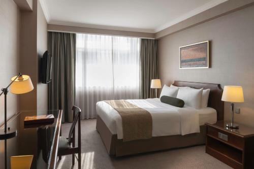 Marco Polo Hongkong Hotel Улучшенный номер с кроватью размера