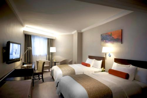 Prince Hotel, Marco Polo Pre-CNY Special Superior Room with room upgrade and Chinese Pudding