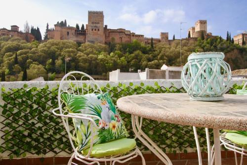 Hotel-overnachting met je hond in Apartamentos Inside Paseo de los Tristes - Granada - Albayzin