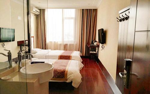 Beijing Gongmei Blue Peacock Business Hotel impression