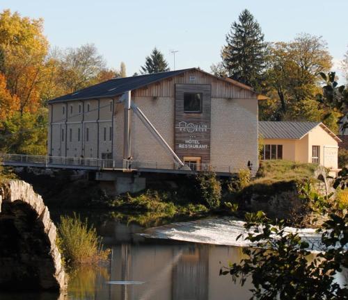 Au Moulin des Ecorces - Hôtel - Dole
