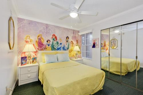 Wizard And Princess Decorated Vacation Condo - Kissimmee, FL 34746