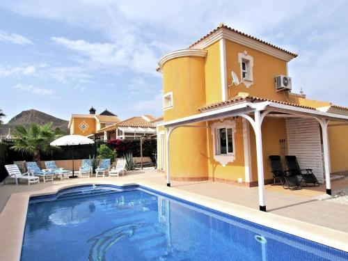 . Luxurious Holiday Home in Mazarron with Private Pool