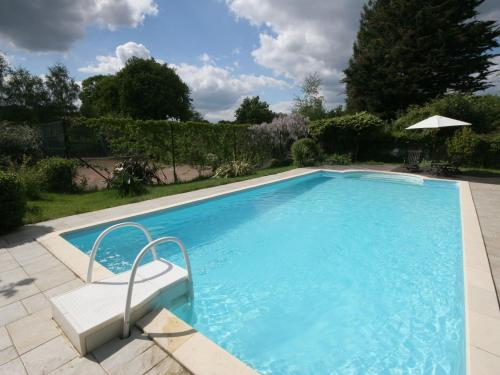 . Modern Holiday Home in Hennebont France with Pool