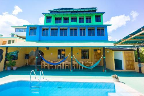 . Galapagos Verde Azul