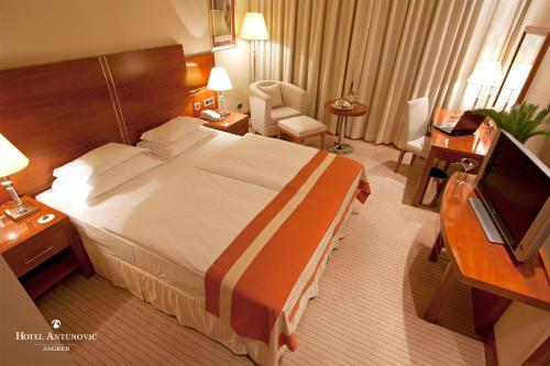 Hotel Antunovic Zagreb foto della camera