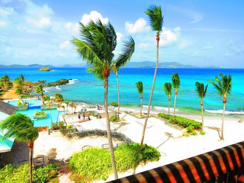 . Luxury Beachfront Duplex Villa on Sapphire Beach IV