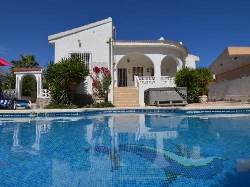Modern Villa in Rojales with Jacuzzi and Private Pool