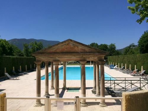 . Cozy Apartment in a Chateau in Drome with Swimming Pool