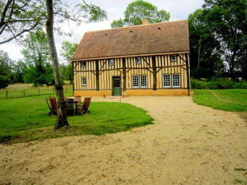 . Modernised detached half-timbered house on the estate of a 16th century castle