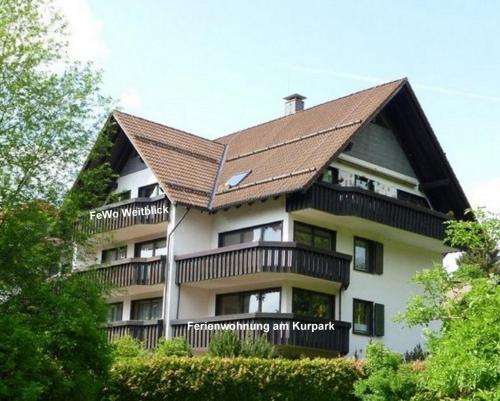 Ferienwohnung am Kurpark - Apartment - Braunlage