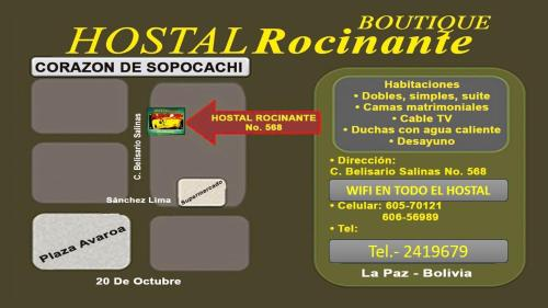 Hotel Hostal boutique Rocinante