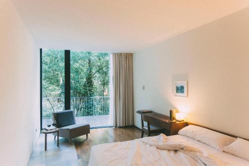 Habitación Doble - 1 o 2 camas - Uso individual Fuente Aceña Hotel Boutique 3