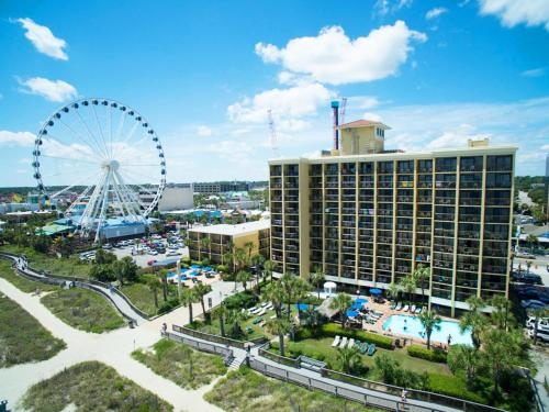 Myrtle Beach Hotels >> Holiday Inn At The Pavilion Myrtle Beach Resort Hotel In Sc