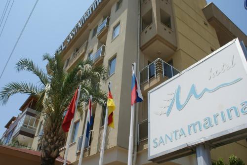Antalya Santa Marina Hotel adres