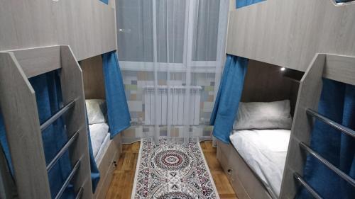 Hostel Eleon Односпальная кровать в общем мужском номере