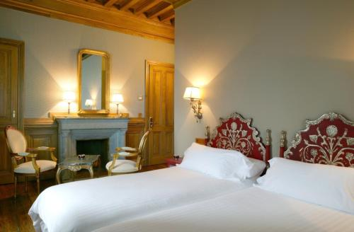 Doppel- oder Zweibettzimmer Castillo de Arteaga 5