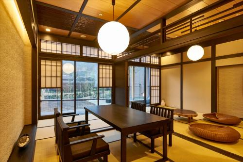 Dinner Time 17:30- Executive Suite Room  with Open-Air Bath with Teppan Yaki Dinner