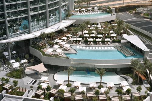 Mohammed Bin Rashid Boulevard, Downtown Dubai, United Arab Emirates.