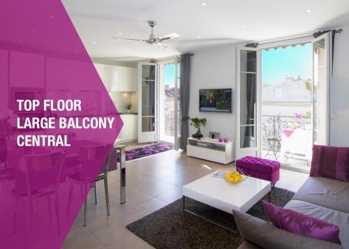 Gounod penthouse apartment - Apartment - Nice