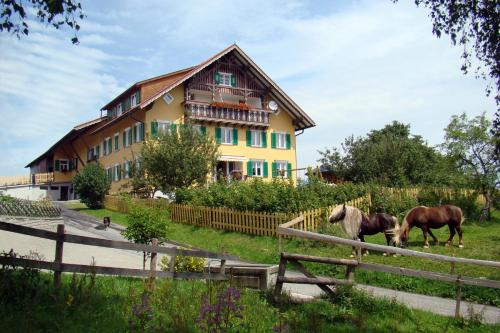 Bio-Bauernhof Heidegger, Pension in Möggers