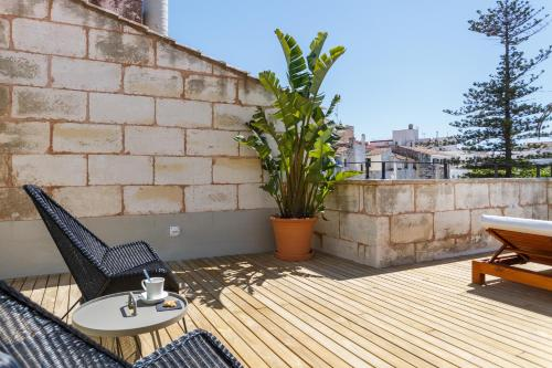 Habitación Doble Superior con terraza Casa Ládico - Hotel Boutique 40