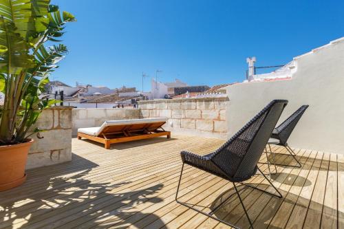 Habitación Doble Superior con terraza Casa Ládico - Hotel Boutique 42