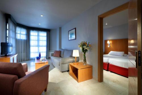 Exe Gran Hotel Almenar 룸 사진